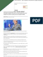 Angela Merkel_ German Multiculturalism Has 'Utterly Failed' _ World News _ Guardian.co