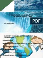 Cambio Climatico en Aguas de Latinoamérica