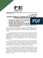 BOLETIN 249_APEGADA A DERECHO COMUNICACIÓN DEL IFE SOBRE LA INVESTIGACIÓN DE QUEJAS