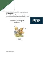 .Informe Al Hogar 2009