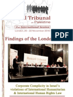 RTOP London Session Findings