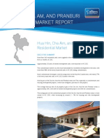 HuaHin, Cha Am and Pranburi Residential Half Year 2012