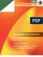 A.E. - Formacion Ciudadana y Cultura de La Legalidad en Veracruz