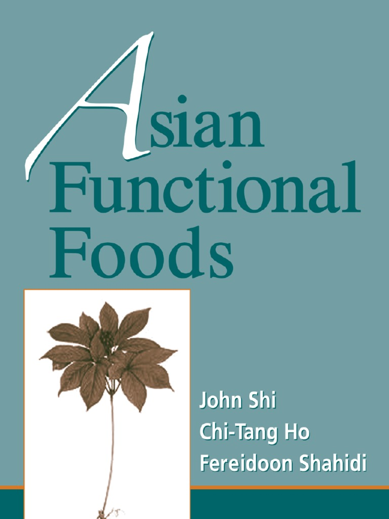Asian Functional Foods - Shi, Ho, Shahidi | Cardiovascular Diseases ...