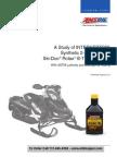 Study of AMSOIL Interceptor 2 cycle oil in Ski-DooRotax engines