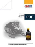 Case study of AMSOIL Interceptor 2 cycle oil in a Ski-Doo ROTAX Engine