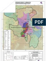 PISP Mapa Parroquias Urbanas Y Rurales Quito Actualizacion Datos