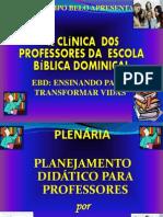 1ª CLÍNICA EBD PLANEJAMENTO