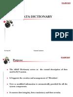 09 Kaavian Data Dictionary