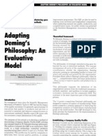 Deming s Philosophy