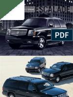 2006 Cadillac Escalade Brochure