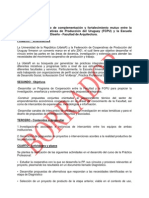 Convenio FCPU