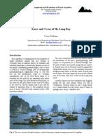 Karst and Caves of Ha Long Bay