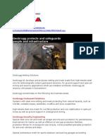 Rockfall Barriers - Companies