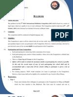 NLIU International Mediation Competition 2012 - Rulebook