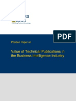 TWB Position Paper Business Intelligence Industry