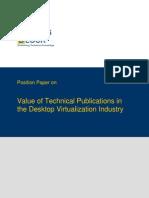 TWB Position Paper Desktop Virtualization Industry