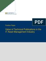 TWB Position Paper IT Asset Management Industry