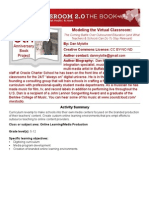 Dan Mylotte - Modeling the Virtual Classroom