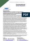 Pressemitteilung vom Berliner Wassertisch vom 23. August 2012