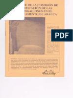 Informe Comision de Verificacion Fumigaciones Arauca 2003