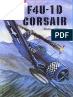 [ModelCard 001] - F4U-1 D Corsair