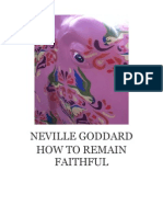 Neville Goddard PDF - How to Remain Faithful