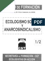 Ecologismo Social i Anarcosindicalismo