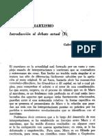 Vargas Lozano, G. - Marx y el marxismo. El debate actual [Dialéctica, nº 7, 1979]