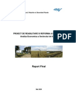 Proiect de Reabilitare Si Reforma a Irigatiilor