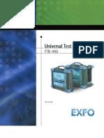 Exfo Ftb-400 Manual