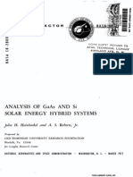 1977-Analysis of Gaas & Si Solar Energy Hybrid Systems