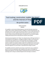 Tool Tracking, Construction, Mobile, the Cloud, Internet of Things