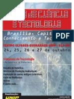 Cartaz Feira de Ciência e Tecnologia