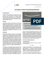 Medical SIMULIA Tech Brief 10 Modeling Biodegradable Polymer Full