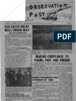 Observation Post, Vol. 1, Issue 1 dated March 21, 1957