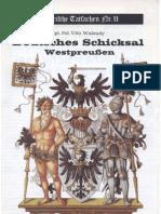 Historische Tatsachen - Nr. 11 - Udo Walendy - Deutsches Schicksal Westpreussen (1981, 40 S., Scan-Text)