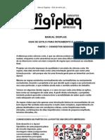 Manual Digiplaq - Guia de Estilo Para Um Bom Layout (Parte 1)