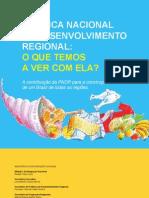 Cartilha sobre a Política Nacional de Desenvolvimento Regional