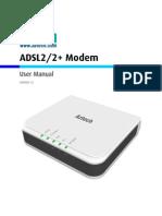 User Manual DSL605EU