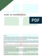 Plano de Governo Jorge Alexandre