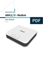 User Manual DSL605EU