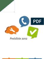 Preisliste FirmenABC Web