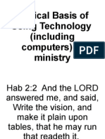 Computers in Ministry