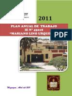 Plan Anual de Trabajo 2011.