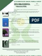 Alerta Bibliográfica Marzo 2012