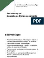 PHD 5744 – Aula 4_Sedimentação
