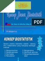Konsep Biostatistik
