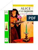 Caroline Quine Alice Roy BV 09 Alice Et Le Chandelier 1930