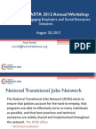 NAWRS NASTA Workshop, Engaging Employers, NTJN, August 2012 v2